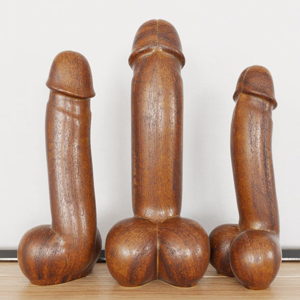 Figurine Phallus Deko - 3DOcean Item for Sale