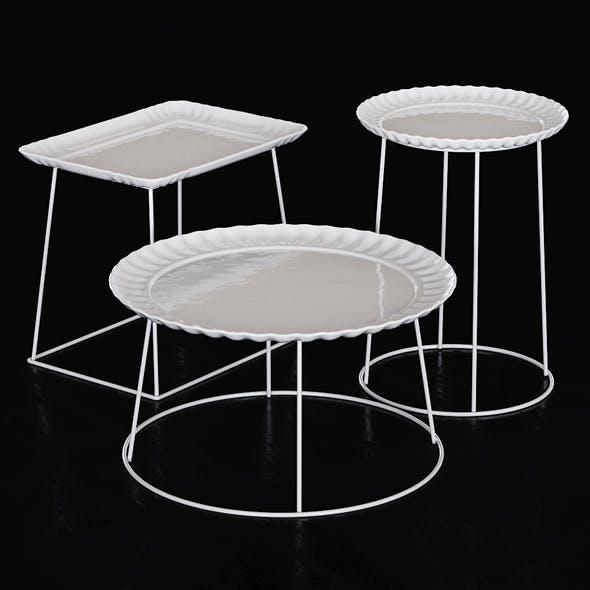 Piatto E Servito Coffee Table - 3DOcean Item for Sale