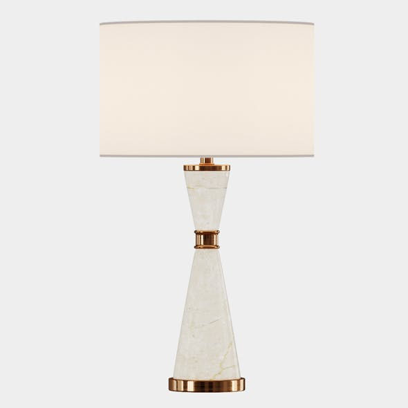 Lycee Table Lamp - 3DOcean Item for Sale