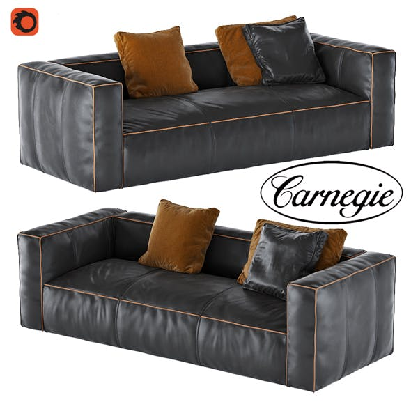 Nolita Leather Sofa - 3DOcean Item for Sale