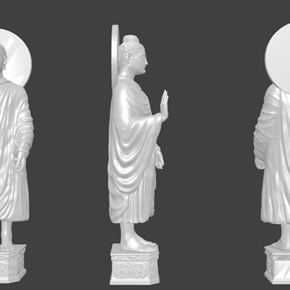 Gautama Buddha 3d Model By Md Shanto
