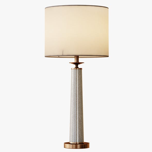 Rhyme Table Lamp Gray - 3DOcean Item for Sale