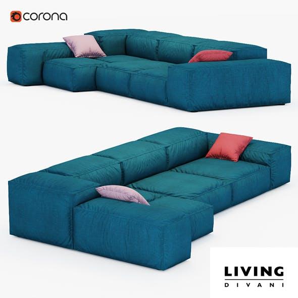 Sofa Extrasoft - 3DOcean Item for Sale