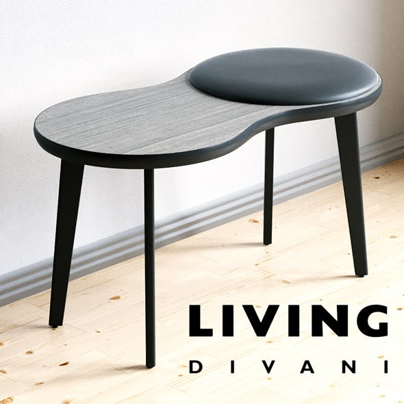 Table Stool Imago - 3DOcean Item for Sale