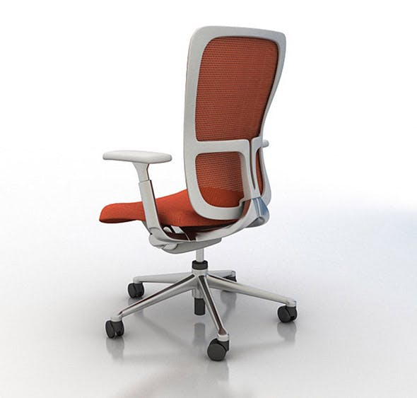 Haworth zody office chair 3d model - 3DOcean Item for Sale