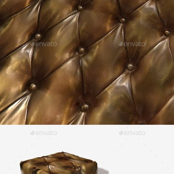 Leather Padding Seamless Texture