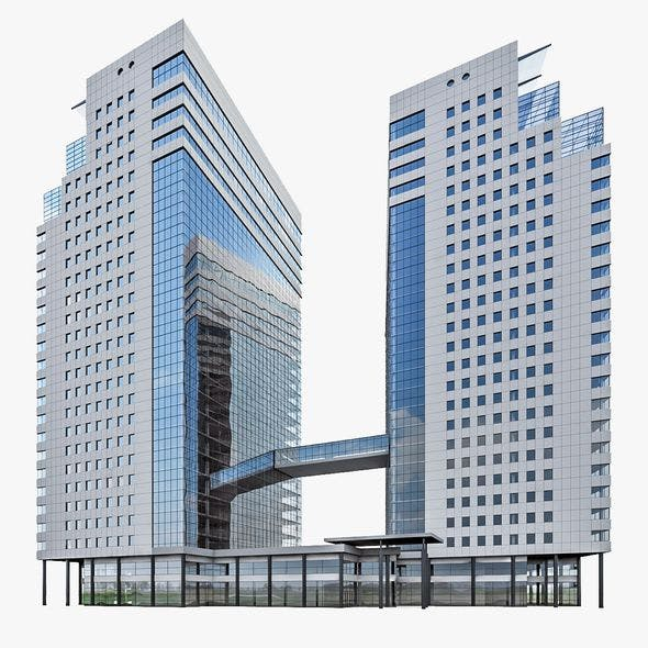 High-rise Office Building 04 - 3DOcean Item for Sale