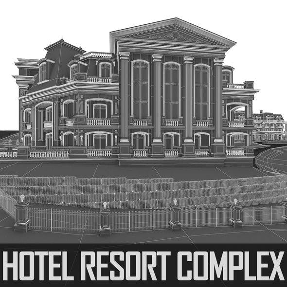 Hotel Resort - Full Set