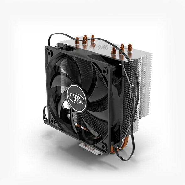 CPU Fan Deepcool Gammaxx 400 - 3DOcean Item for Sale