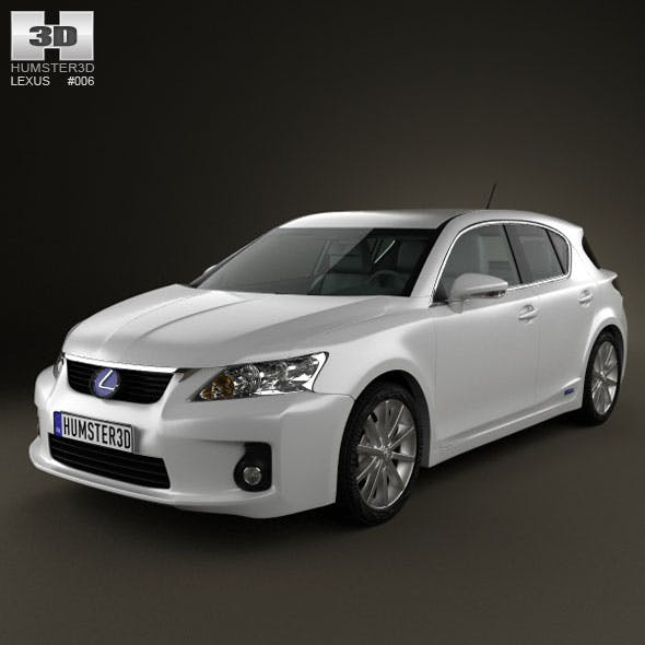 Lexus CT 200h 2011 - 3DOcean Item for Sale