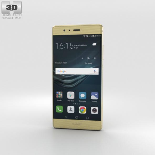 Huawei P9 Prestige Gold - 3DOcean Item for Sale