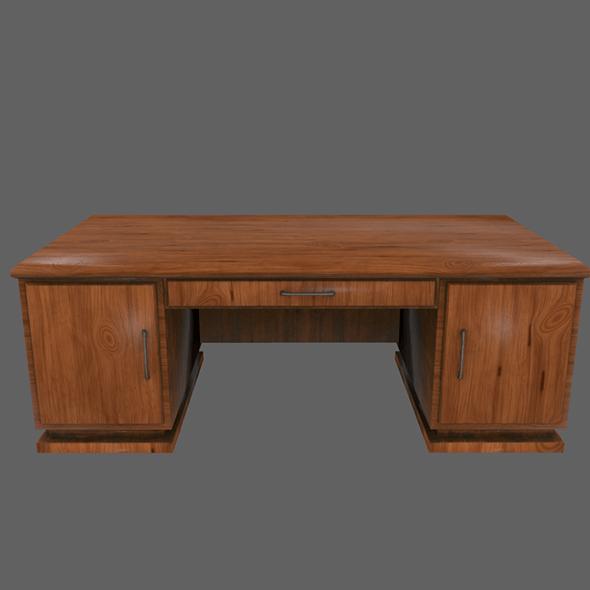 Desk_2 - 3DOcean Item for Sale