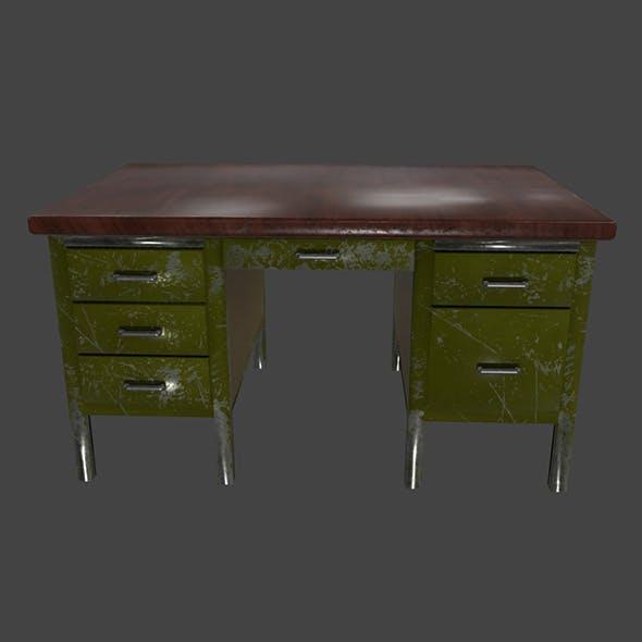 Desk_1 - 3DOcean Item for Sale