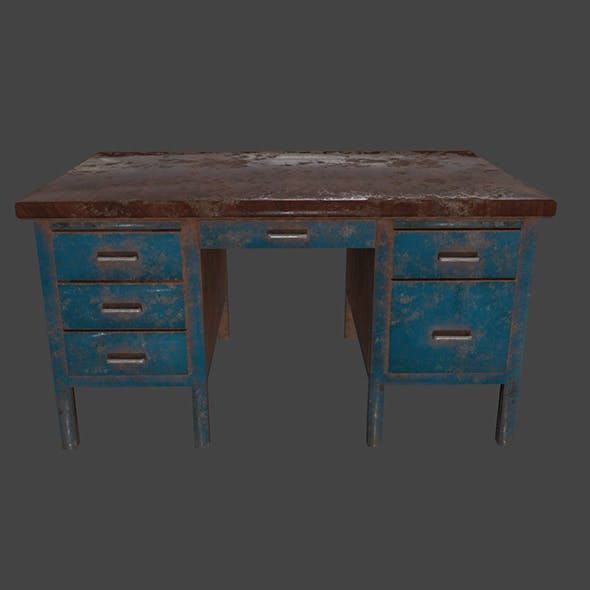 Desk_1 - 3DOcean Item for Sale