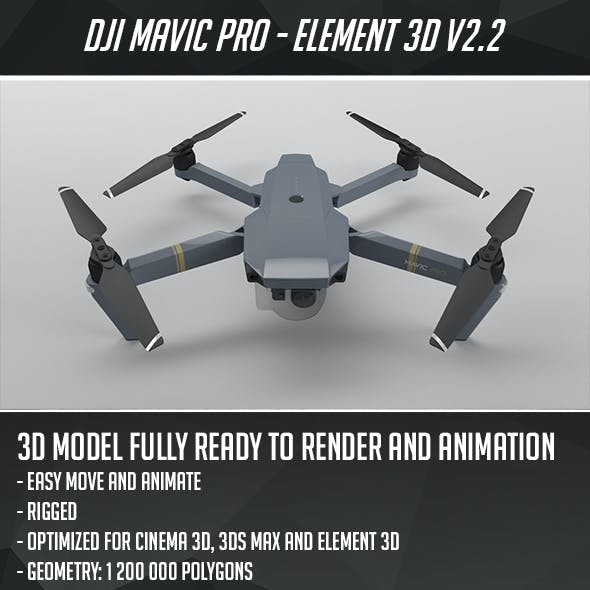 DJI Mavic Pro - Element 3D