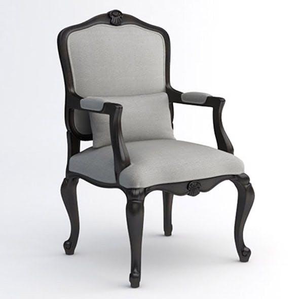 Louis XV armchair - 3DOcean Item for Sale