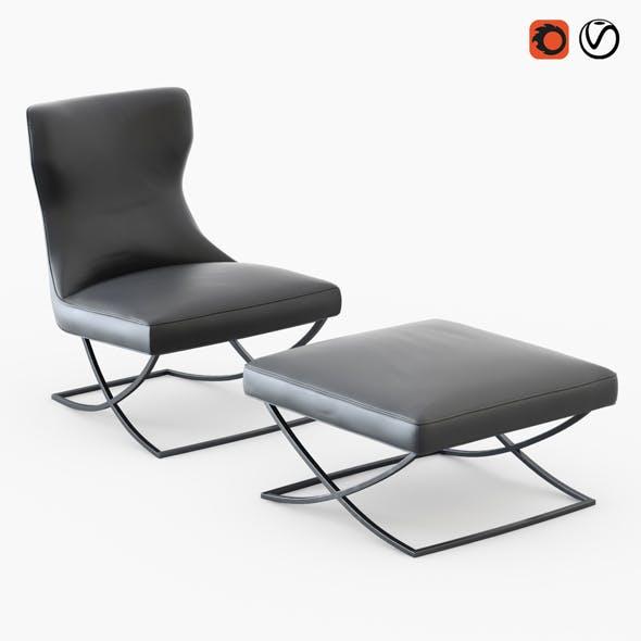 Armchair Paloma - 3DOcean Item for Sale