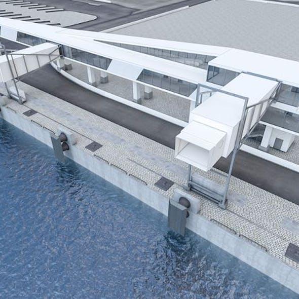 Port Gangway Set