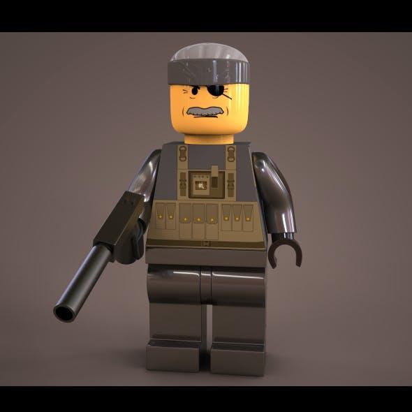Lego Solid snake
