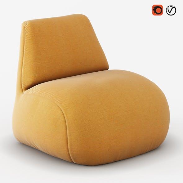 Armchair Scilla - 3DOcean Item for Sale