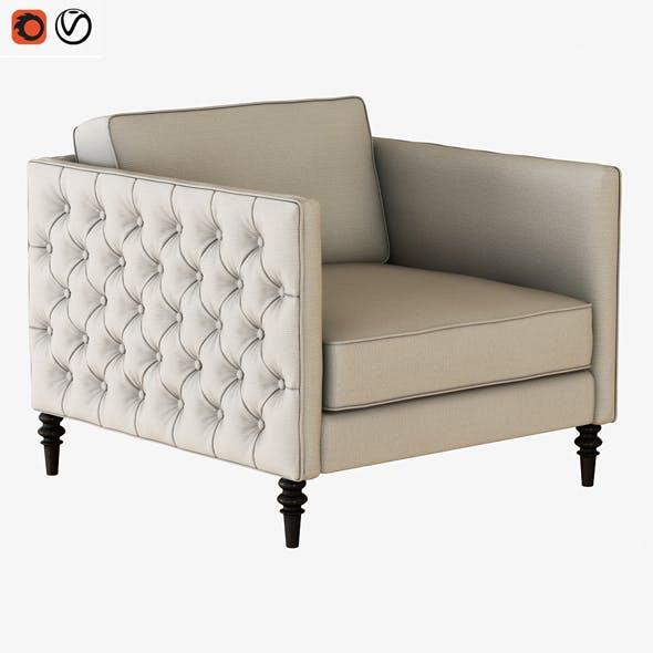Armchair Winston - 3DOcean Item for Sale