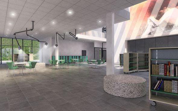 Public Hall Interior 01 - 3DOcean Item for Sale