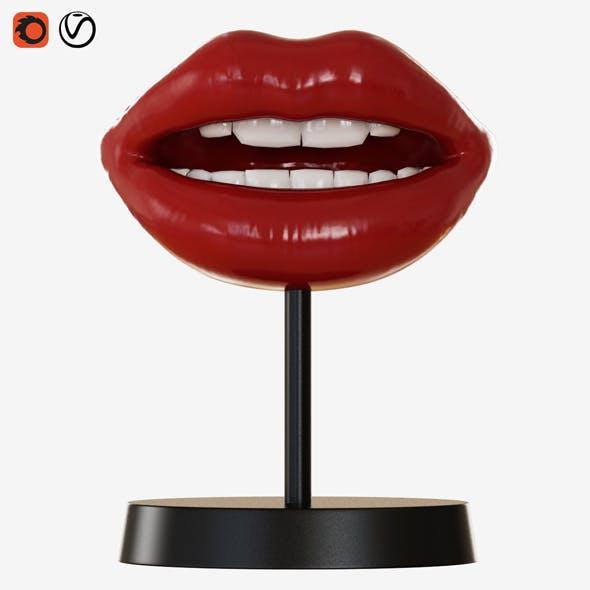 Figurine Lips - 3DOcean Item for Sale