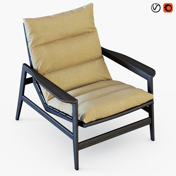 Ipanema Armchai - 3DOcean Item for Sale