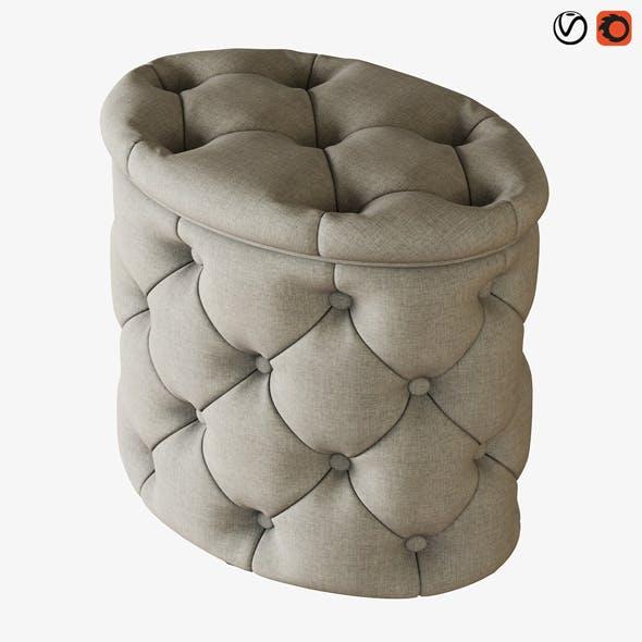 Pouf Gabrielli - 3DOcean Item for Sale