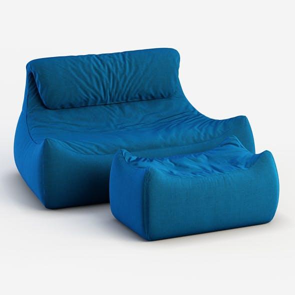 Sofa Valentine - 3DOcean Item for Sale