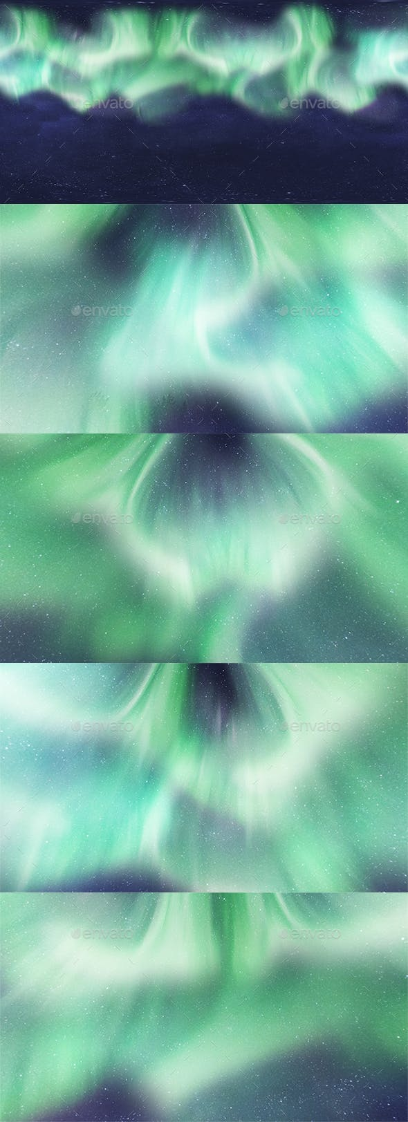 Skydome HDRI - Northern Lights 2 - 3DOcean Item for Sale