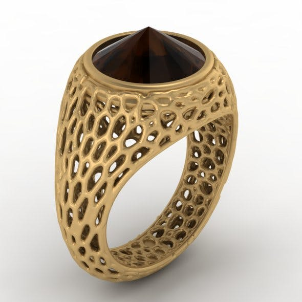 Patten ring - 3DOcean Item for Sale