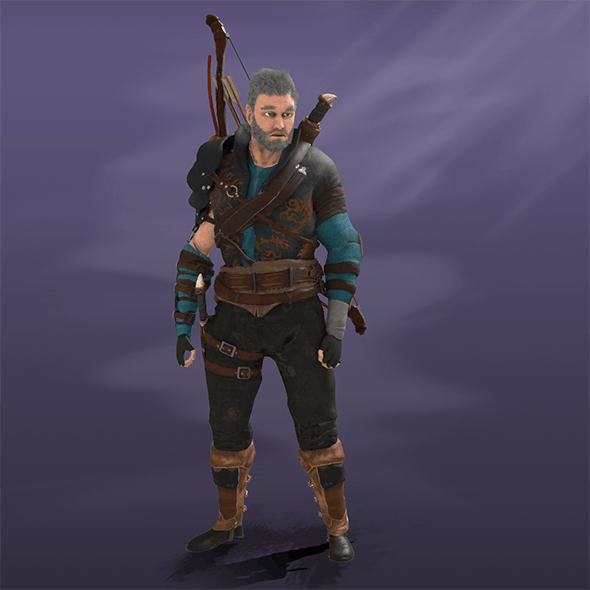 Archer - 3DOcean Item for Sale