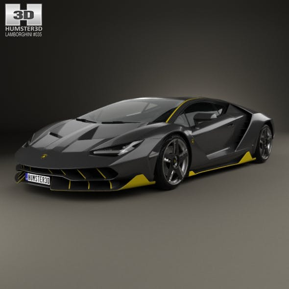 Lamborghini Centenario 2017 - 3DOcean Item for Sale