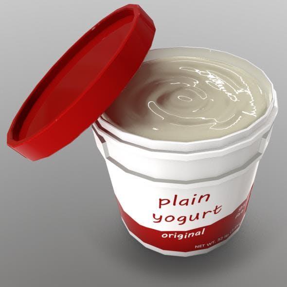 Yogurt - 3DOcean Item for Sale