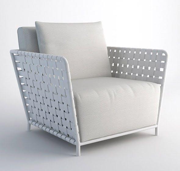 INOUT 801FW armchair - 3DOcean Item for Sale