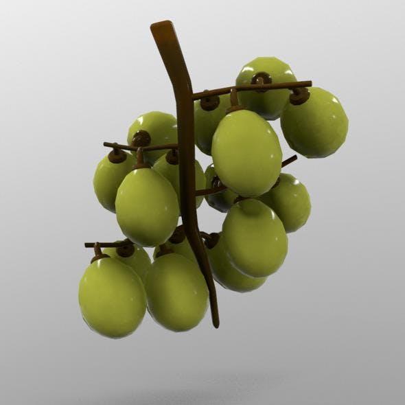 Grapes - 3DOcean Item for Sale