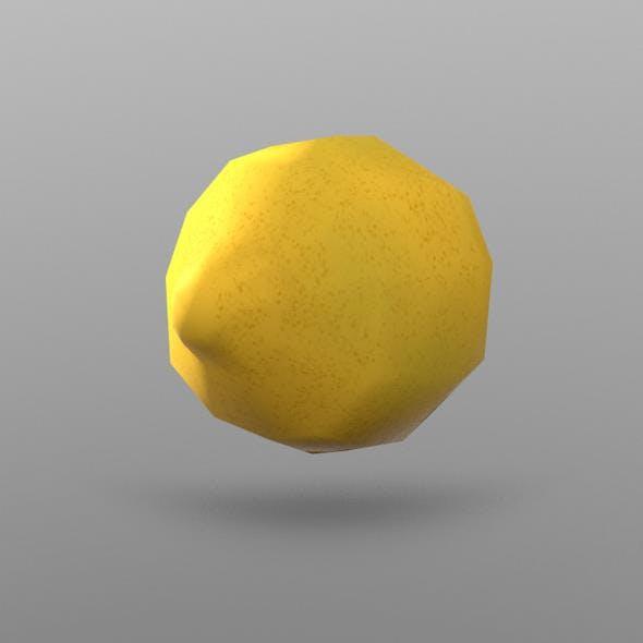 Lemon - 3DOcean Item for Sale