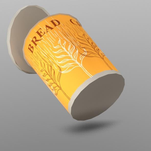 Breadcrumbs Cup - 3DOcean Item for Sale