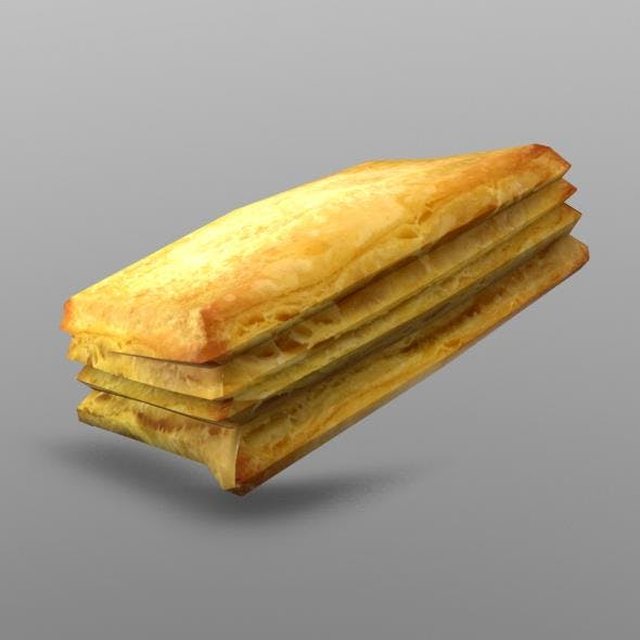 Puffpastry - 3DOcean Item for Sale