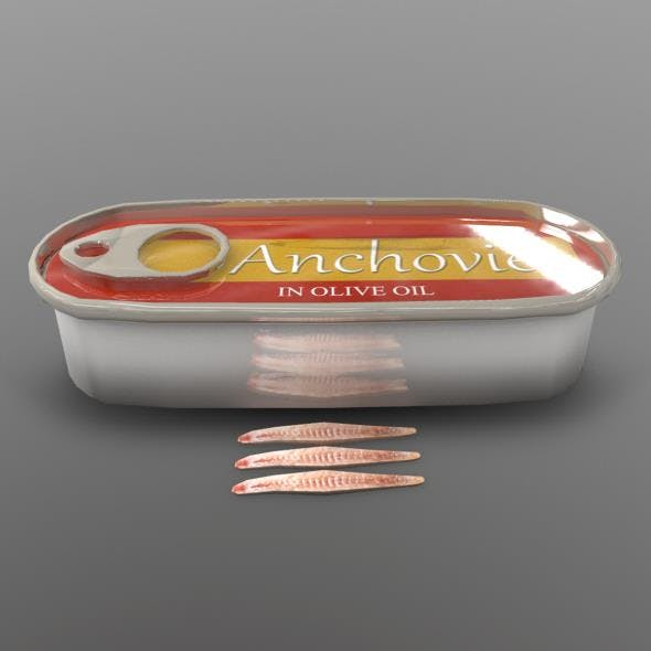 Anchovy - 3DOcean Item for Sale