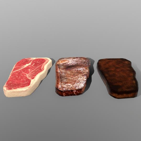 New York Strip Steak - 3DOcean Item for Sale