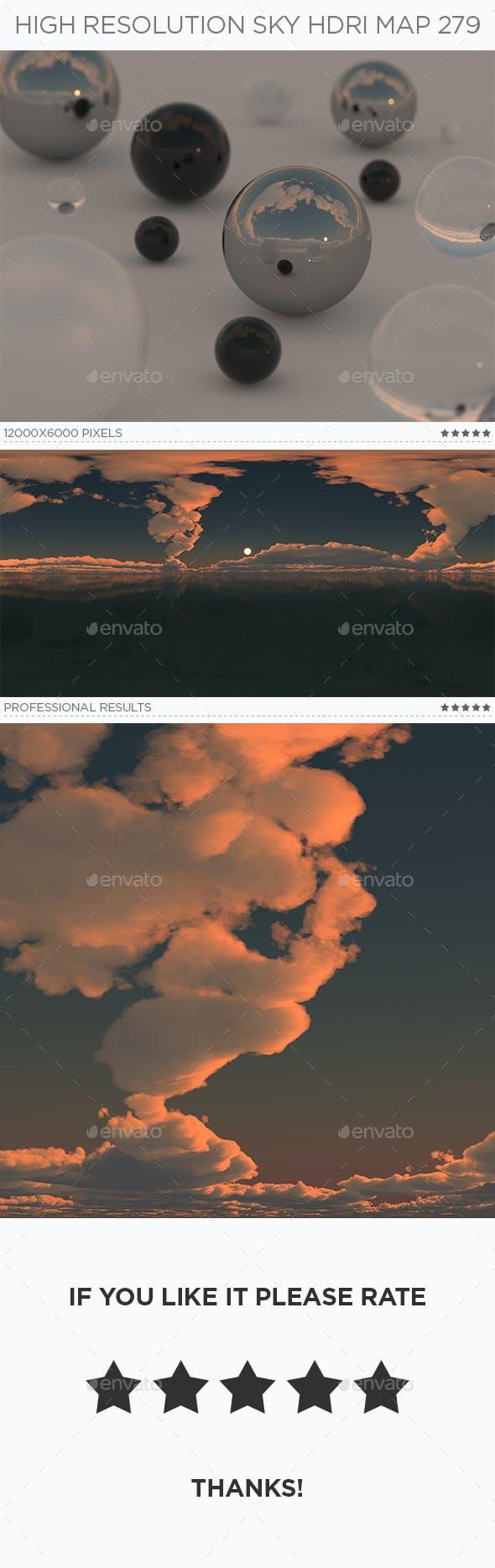 High Resolution Sky HDRi Map 279 - 3DOcean Item for Sale