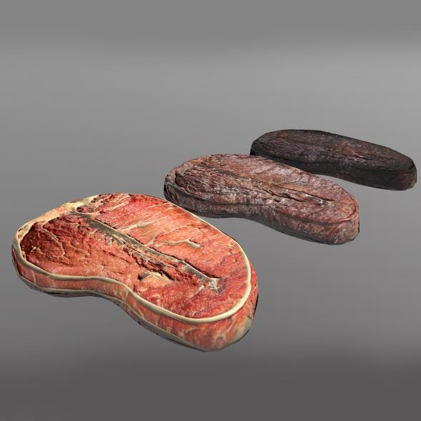 Steak - 3DOcean Item for Sale