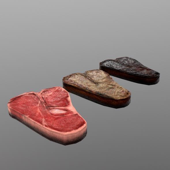 T-bone Steak - 3DOcean Item for Sale