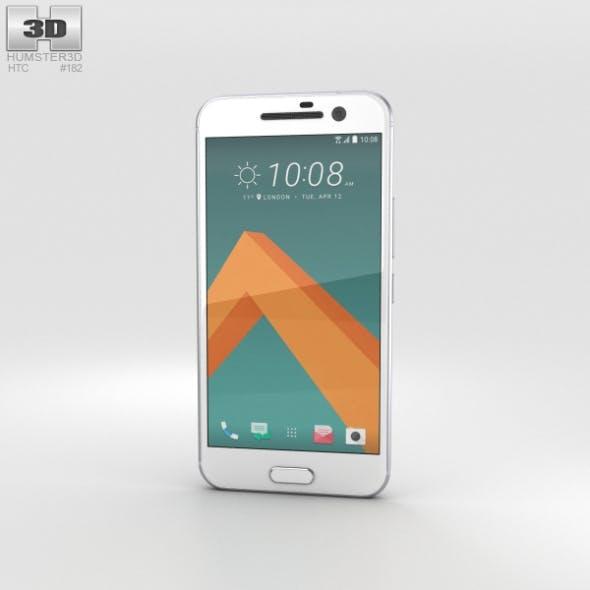 HTC 10 Glacier Silver (White Front)