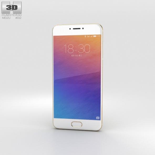 Meizu Pro 6 Gold - 3DOcean Item for Sale
