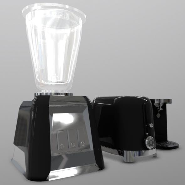 Cooking Appliances - 3DOcean Item for Sale