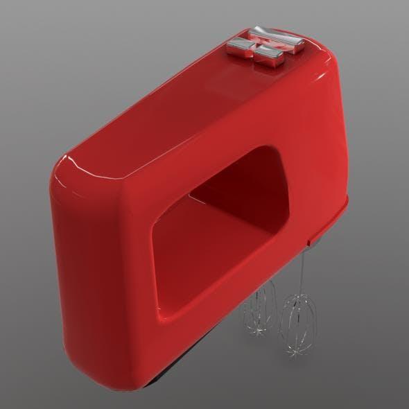 Hand Mixer - 3DOcean Item for Sale