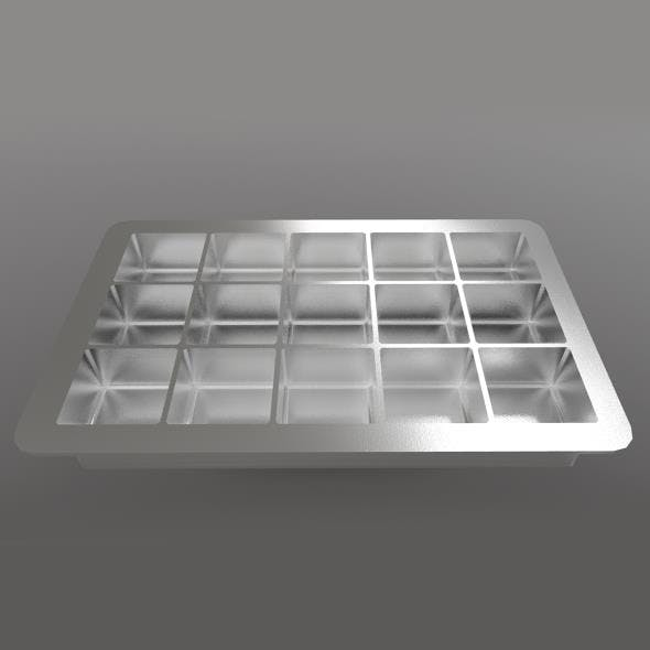 Ice Cube Tray - 3DOcean Item for Sale